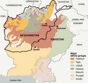 Pashtun areas